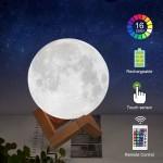 lampa luna plina 3d