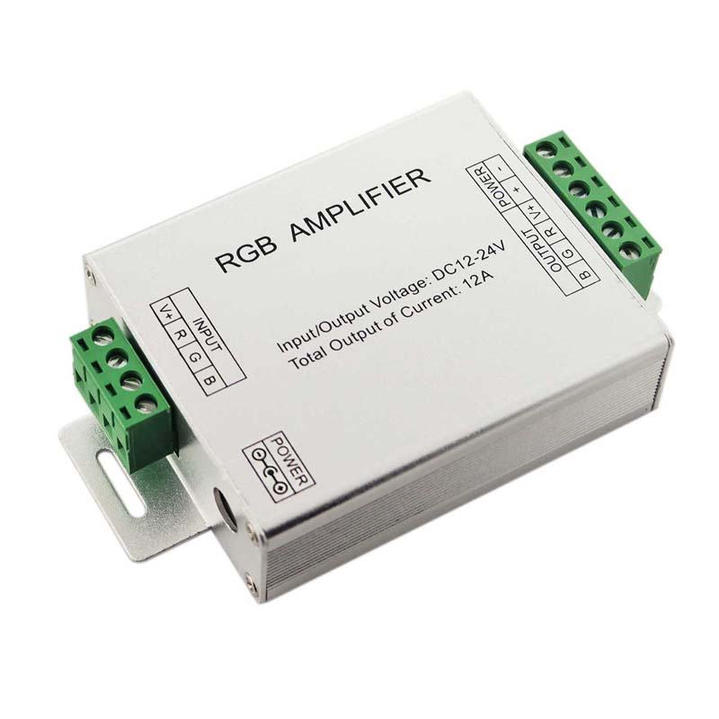 amplificator banda led rgb 12a